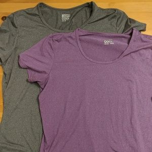 Short sleeve Workout shirt set xl